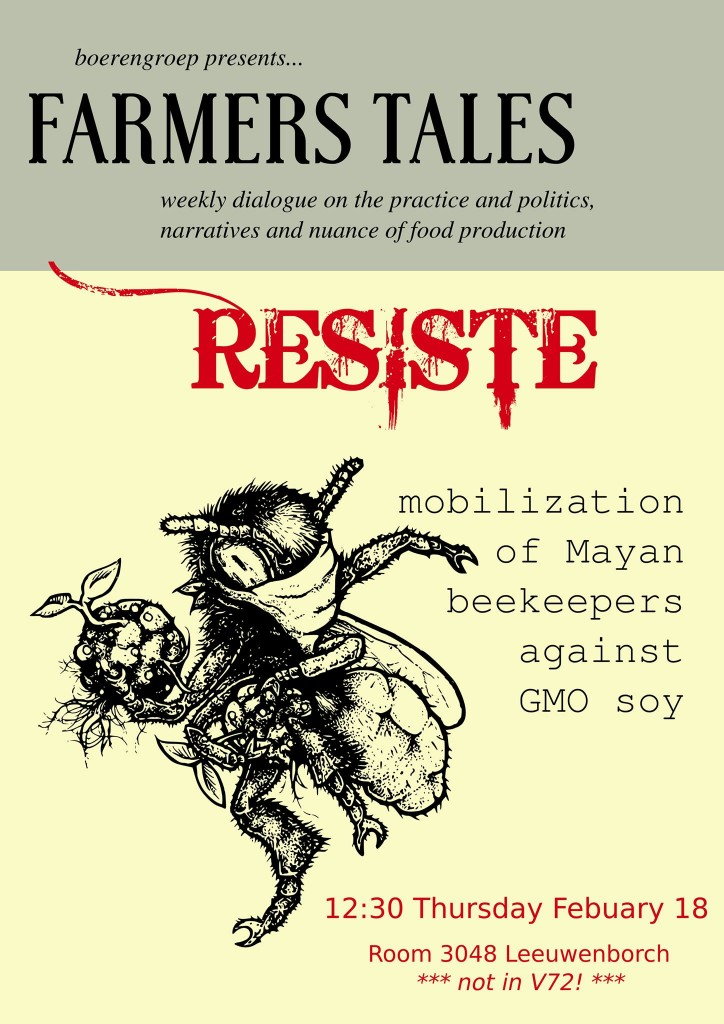 160218 Mobilization Mayan Beekeepers against GMO soy