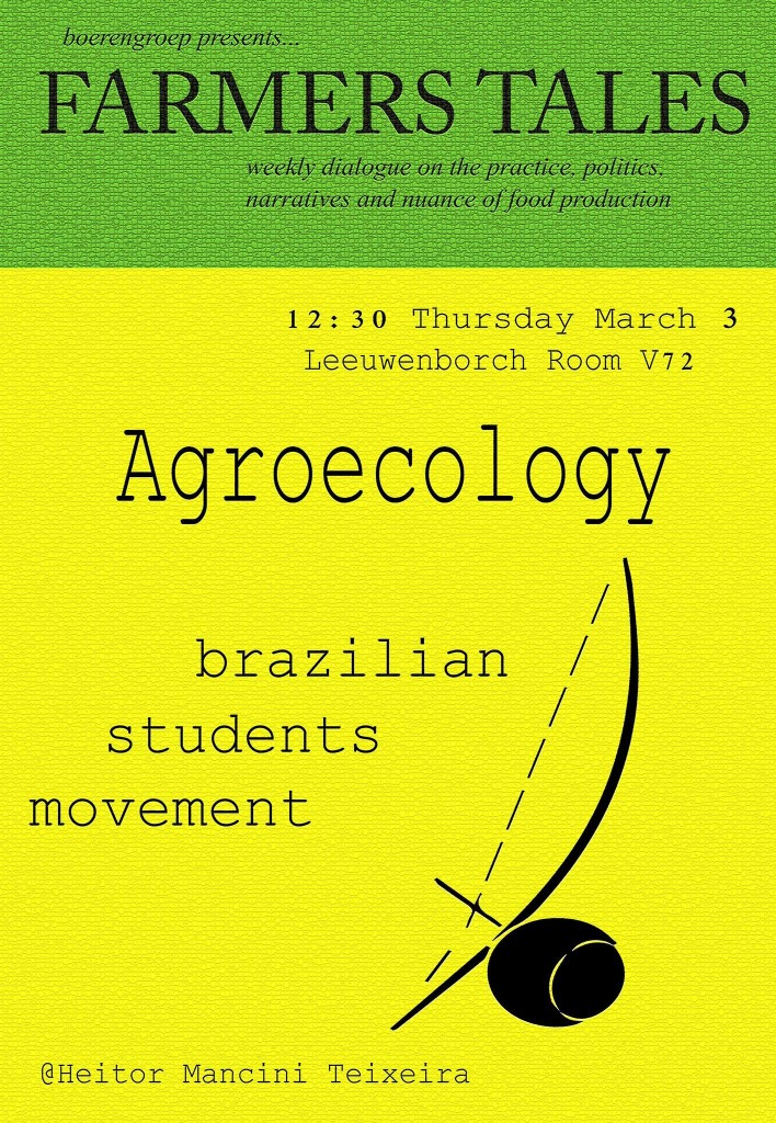 160303 Agroecology Heitor