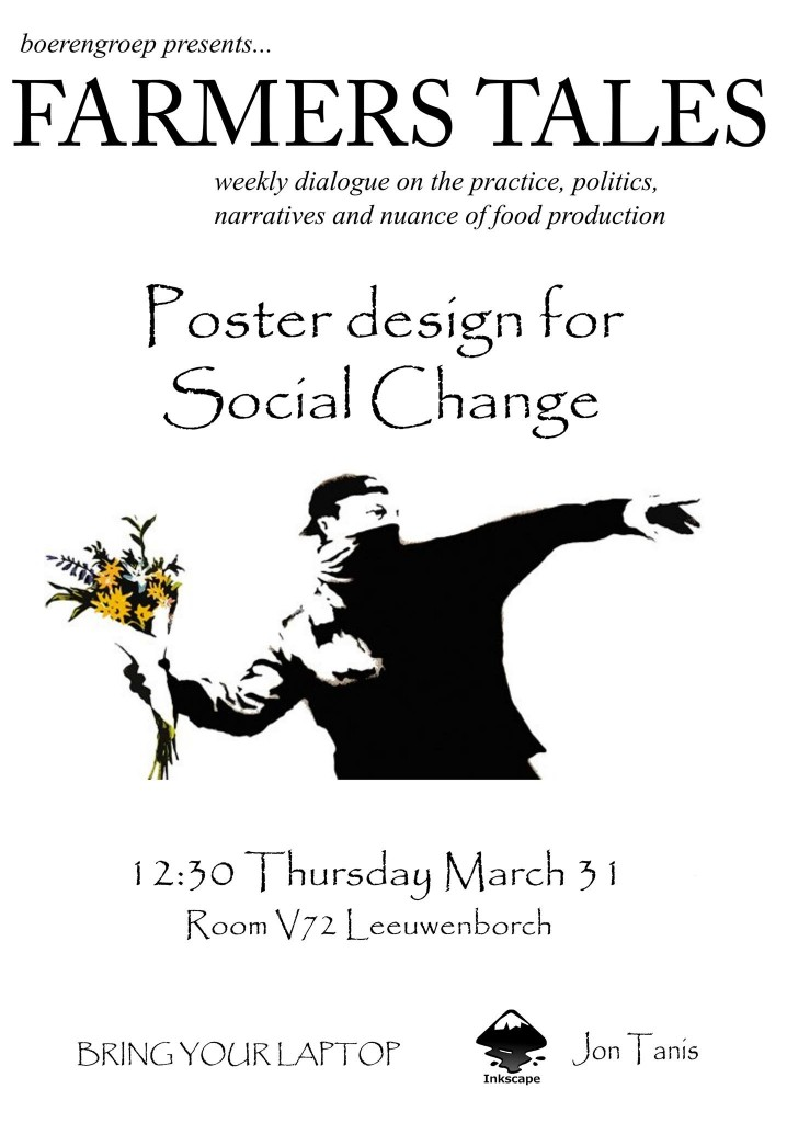 160331 Poster design for social change 1