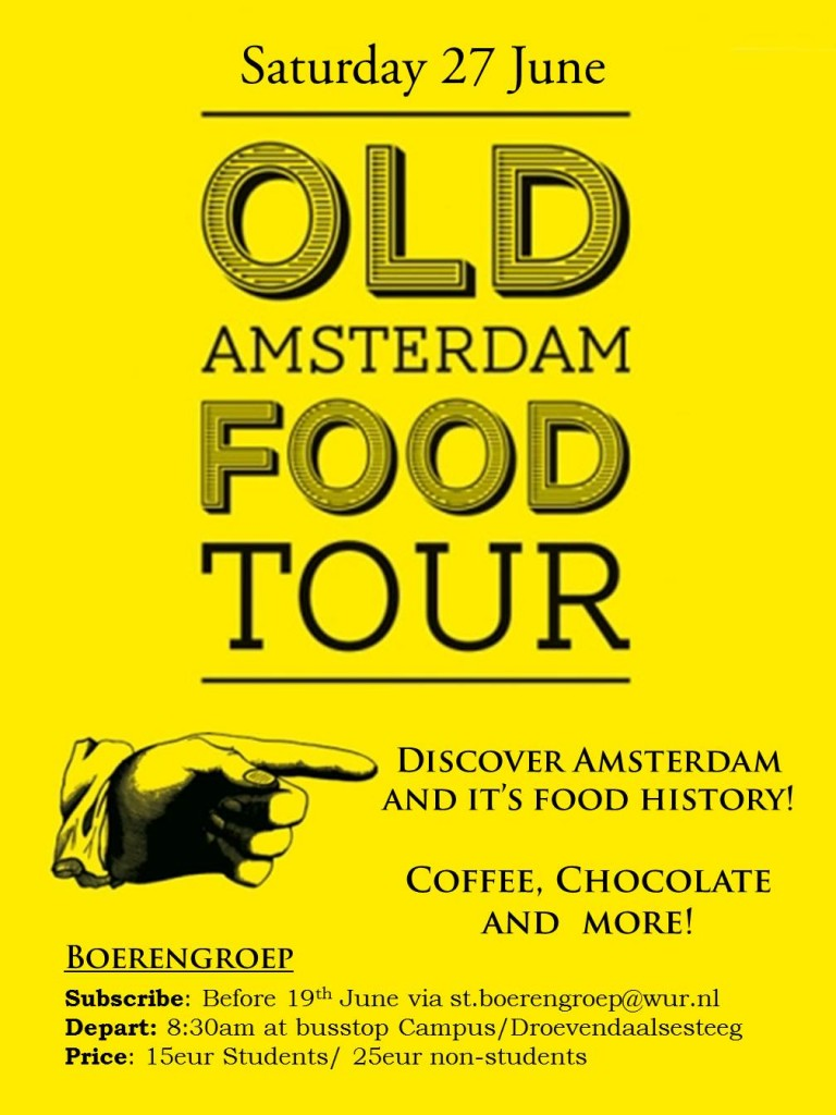 Old A'dam Food tour
