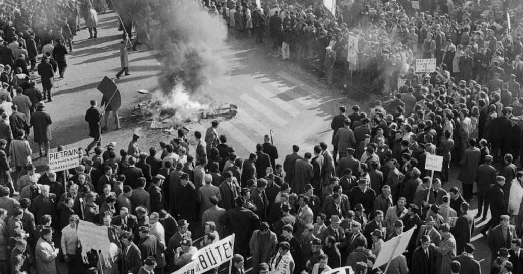 demonstratie 1971