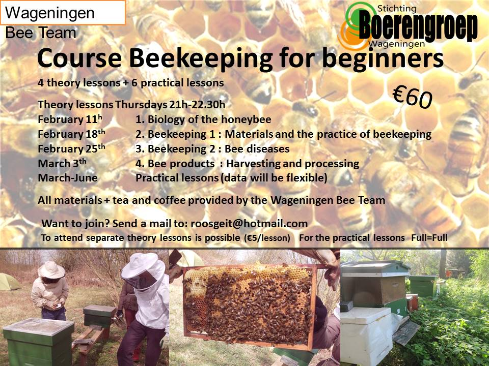 poster beekeeping course