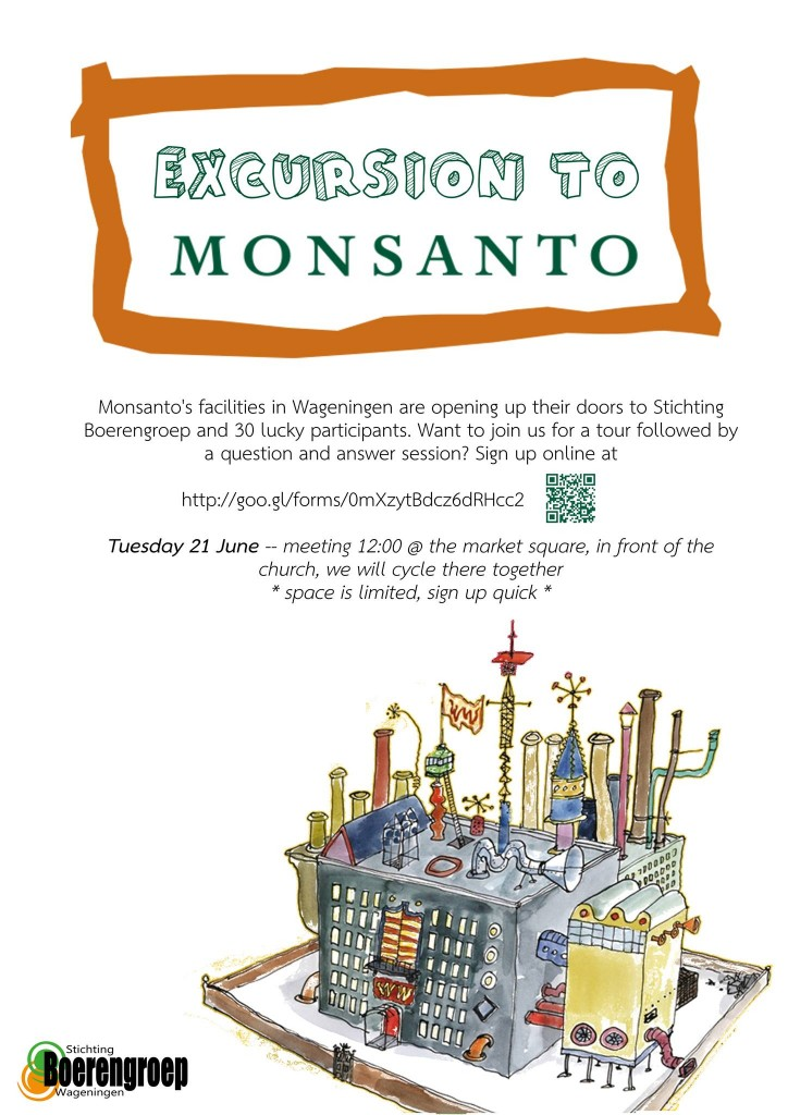 poster monsanto excursion