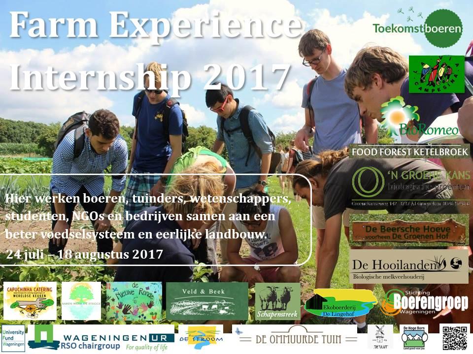 FEI 2017 poster for farmers