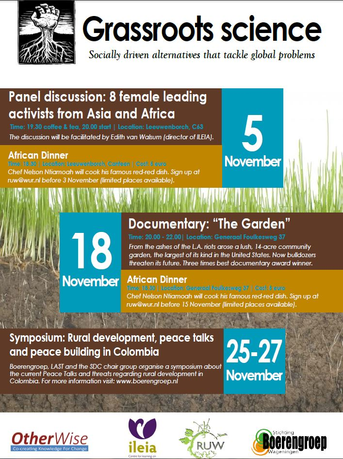 Grassroot Science Month