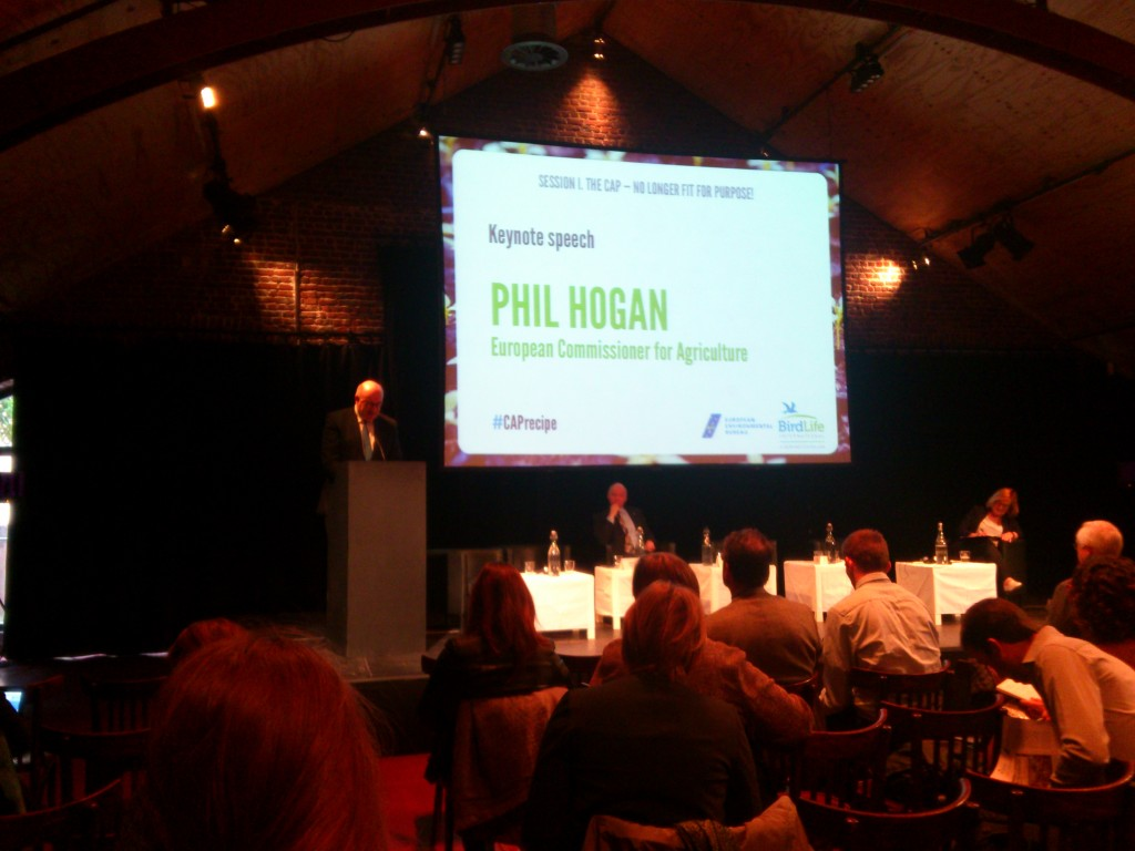 Phil Hogan during his keynote speach
