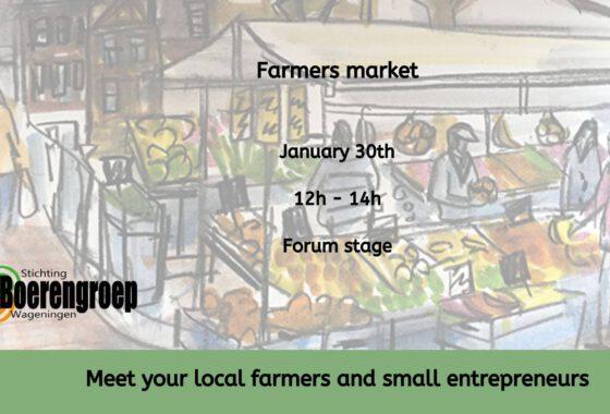 Local Farmers Market at WUR