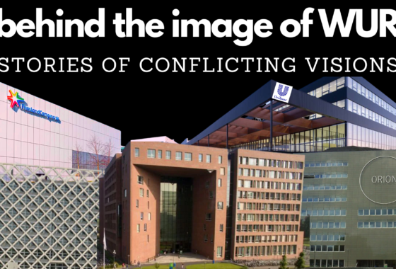 Behind the image of WUR: stories of conflicting visions