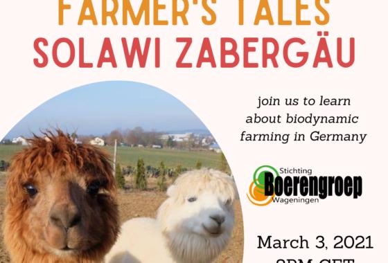 Recording Farmers' Tale: Solawi Zabergäu