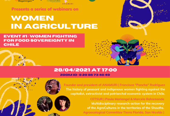 Women fighting for Food Sovereignty in Chile