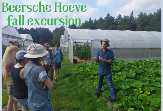 Excursion to the Beersche Hoeve