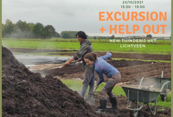 Excursion + Help out Tuinderij het Lichtveen