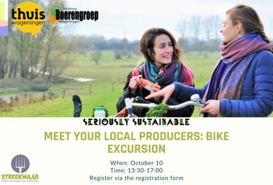Meet your Local Producers: Bike Excursion Streekwaar